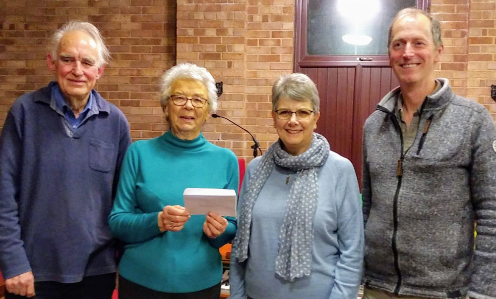 Ross Penyard Singers raise funds for Ross Meeting Centre.